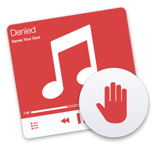 Denied app icon